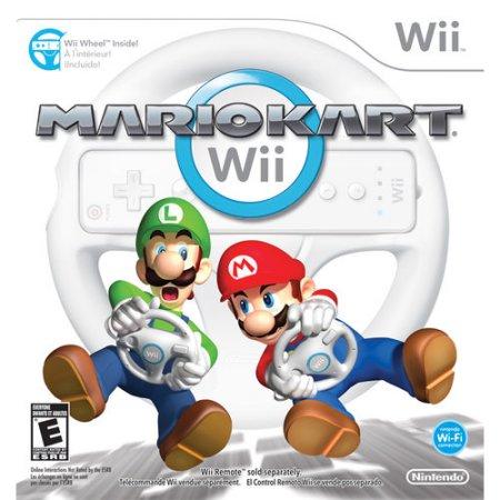 Mario Kart with Wii Wheel - Nintendo of America