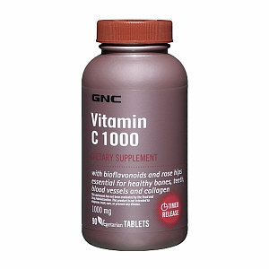 GNC Vitamin C 1000 with Bioflavonoids and Rose Hips