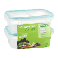 Snapware Airtight Container with Lid Small Rectangle 2 Cup - 2 CT