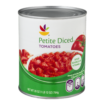 Ahold Petite Diced Tomatoes
