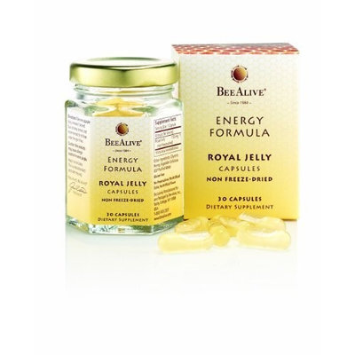 Bee Alive Royal Jelly Energy Formula 150 mg - 30 Capsules