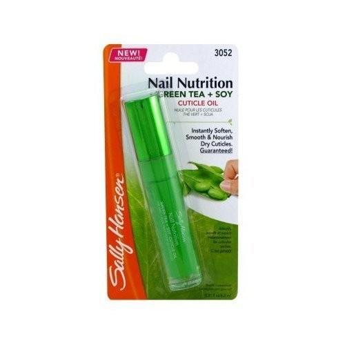 Sally Hansen Nail Treatment Nail Nutrition Green Tea & Sandalwood Cuticle Treatment (2-pack)