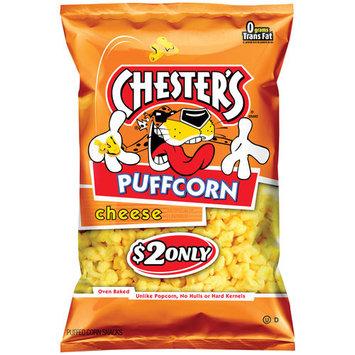 Chester's Puffcorn Cheese Puffed Corn Snacks, 5.5 oz