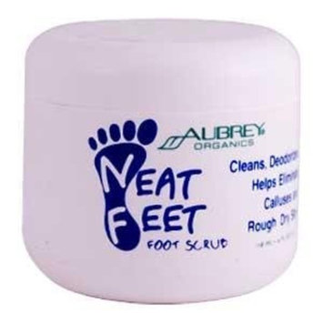Aubrey Organics Neat Feet Foot Scrub