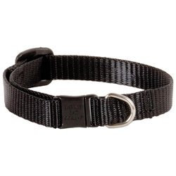 Lupine Cat Safety Collar - Black - 1/2 x 8-12 in