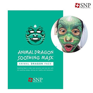 SNP Cosmetic SNP Dragon Soothing Mask, 0.5 Pound []