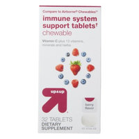 up & up up&up Immune System Support Tablets Berry Flavor Chewables - 32 Count