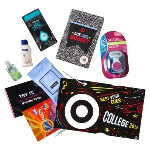 Procter & Gamble Back to College for Her Care Package