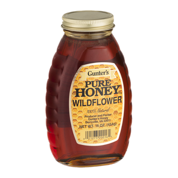 Gunter's Pure Honey Wildflower