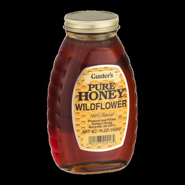 Gunter's Pure Honey Wildflower