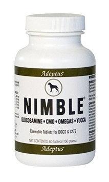 Adeptus Nutrition 20201 Nimble For Pets 6.6 oz. 60 Tablets
