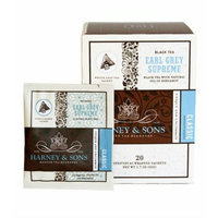 Harney & Sons Harney and Sons Earl Grey Supreme Tea, 20 Wrapped Sachets