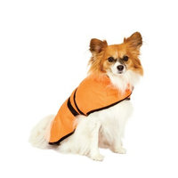 Fashion Pet Blanket Coat for Dogs, Essential Orange, Small
