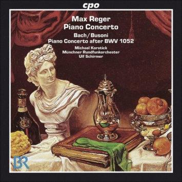 Cpo Records Munchner Rundfunkorchester - Reger: Bach/Busoni, Piano Concerto After BWV 1052