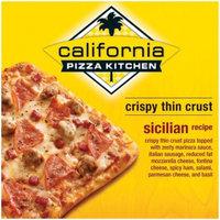California Pizza Kitchen Sicilian Recipe Crispy Thin Crust Pizza 6.5