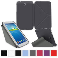 rooCASE Samsung Galaxy Tab 3 7.0 Case - Slim Shell Origami Stand Tablet 7-Inch 7