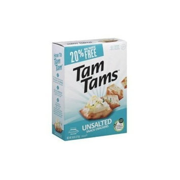 Manischewitz Cracker Tams, No Salt Value Pack 9.6 oz. (Pack of 12) ( Value Bulk Multi-pack)