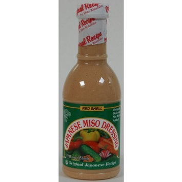 Red Shell Miso Dressing, 12-Ounce