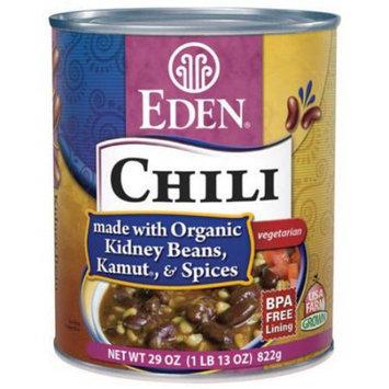 Eden Organic Eden Chili - Kidney Beans & Kamut, 29 Ounce (Pack of 6)