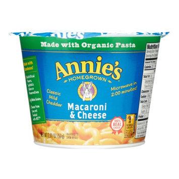Annie's Homegrown Organic Classic Microwaveable Macaroni & Cheese 2.01 oz