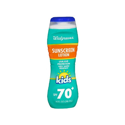 Walgreens Kids Sunscreen Lotion SPF 70