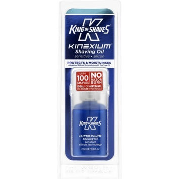 King of Shaves KINEXIUM Shaving Oil Sensitive, 0.6 oz (Pack of 2)
