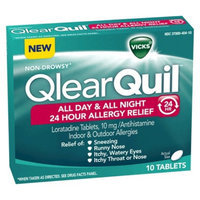 Vicks QlearQuil All Day & All Night 24 Hour Allergy Relief