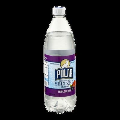 Polar Calorie-Free Seltzer Triple Berry
