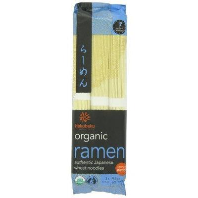 HAKUBAKU Ramen Noodles, 9.5-Ounce (Pack of 4)