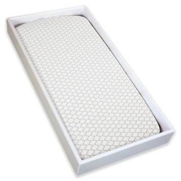 Babies R Us Kushies Change Pad Fitted Sheet - White/Grey
