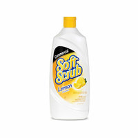 SOFT SCRUB Commercial Lemon Cleanser Lemon Scent Bottle