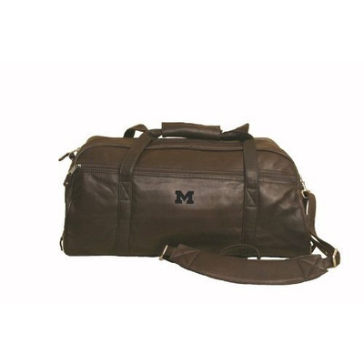 Michigan - Marble Canyon Leather Sport Duffel - Brown
