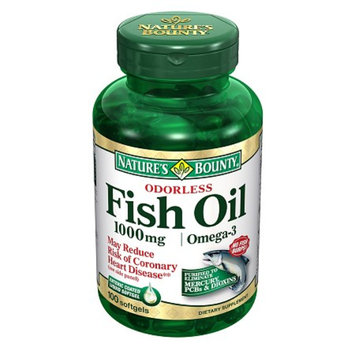 Nature's Bounty Odorless Fish Oil