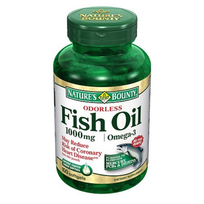 Nature's Bounty Odorless Fish Oil