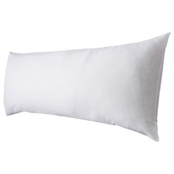 Room Essentials Body Pillow - White