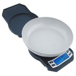 American Weigh Scales 330LPW-BK Digital Glass Scale Black
