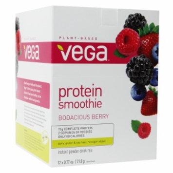 Vega Energizing Smoothie Mix Bodacious Berry - 12 Packs