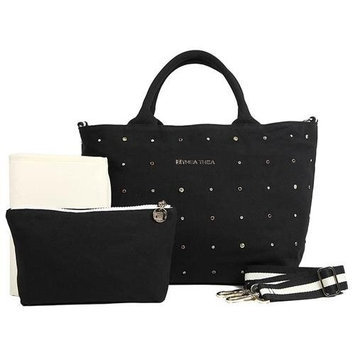 Thea Thea, Llc. THEA THEA MADISON BABY BAG IN BLACK