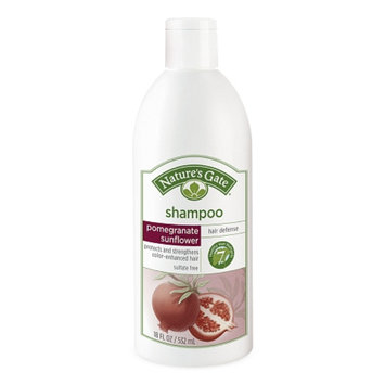 Nature's Gate Pomegranate Sunflower Hair Defense Shampoo