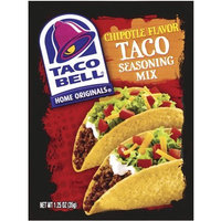 Taco Bell Home Originals Chipotle Taco Seasoning Mix, 1.25-Ounce Packets (Pack of 24)