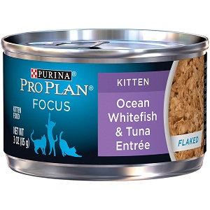 PRO PLAN® FOCUS KITTEN Ocean Whitefish & Tune Entree In Flaked