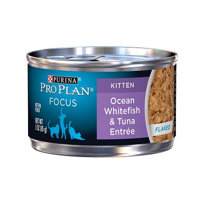 PRO PLAN® FOCUS KITTEN Ocean Whitefish & Tune Entree In Flaked