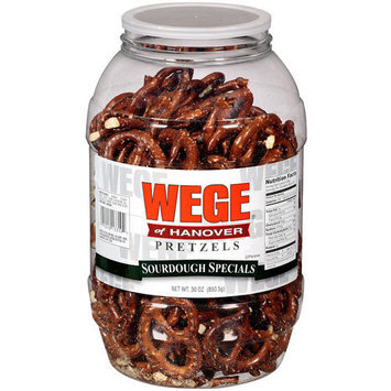 Wege of Hanover: Sourdough Specials Pretzels, 30 Oz