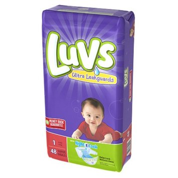 Luvs with Ultra Leakguards Size 1 Diapers