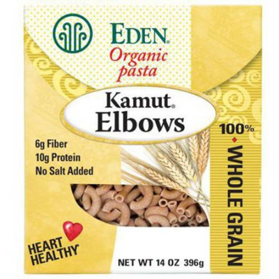 Eden Organic Eden Kamut Elbows, Organic, 100% Whole Grain, 14 Ounce (Pack of 3)