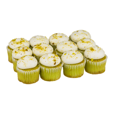 LaBree's Bakery Home Style Sweetly Salted Pistachio Cupcakes - 12 CT