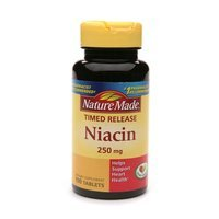 Nature Made Timed Release Niacin 250mg