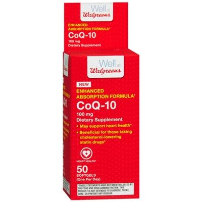Walgreens Superb CoQ-10 100mg, Tablets, 50 ea