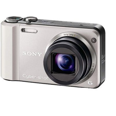 Sony Cyber-shot DSCH70 16.1MP Digital Camera with 10x Optical Zoom -
