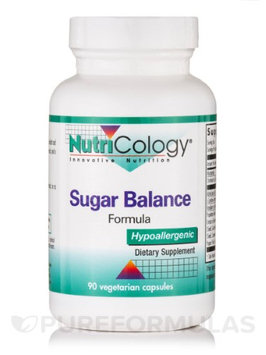 Sugar Balance Formula 90 Caps by Nutricology/ Allergy Research Group